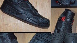 "リーク画像 Air Jordan 3LAB4 ""Black/Infrared 23"""