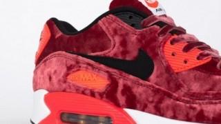 """直リンクあり 4月11日発売 Nike Air Max 90 """"VELVET RED"""""""