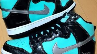 Nike Dunk Hi SB × Diamond(Tiffany)