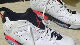 "リーク画像 AIR JORDAN 6 LOW ""INFRARED"""