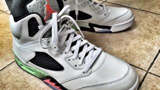 "リーク画像 6月6日発売予定  Air Jordan Retro 5 ""Space Jam"""