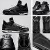 "4月25日発売予定 Air Jordan 11Lab4 ""Black Patent"""
