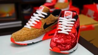 """Nike Air Max 90 """"VELVET RED""""&""""Cork"""""""