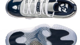 4月11日発売予定 Nike Air Jordan 11 Lows Wear Georgetown Colors