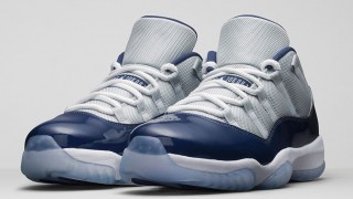"直リンクあり 4月11日発売 Nike Air Jordan 11 Retro Low""GREY MIST"""