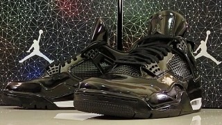 4月25日発売予定 Air Jordan 11LAB4 Black Patent