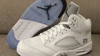 直リンクあり 4月4日発売予定 Nike Air Jordan 5 Metallic Silver