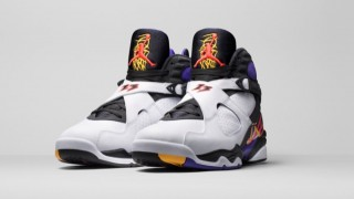"10月1日発売予定 Air Jordan 8 ""Three Time's A Charm"""