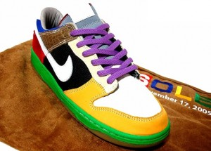 nike dunk low ID sole collector