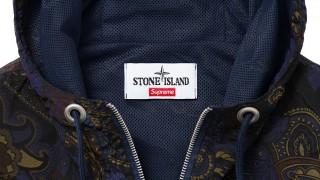 4月11日発売予定 Supreme × Stone Island(ストーンアイランド)2015SS