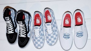 リーク画像 Supreme × Whitecastle × Vans