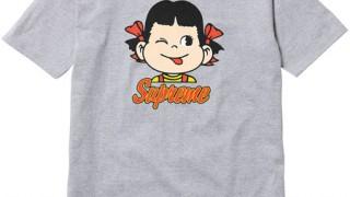 会員抽選販売!Supreme Candy Tee(ペ○ちゃんT)2015ss