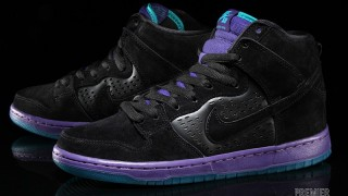 "予約開始 Nike SB Dunk High ""Black Grape"""