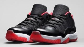 """直リンクあり 5月23日発売 Nike Air Jordan Retro 11 Low """"Bred"""""""
