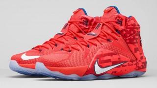 """直リンク掲載 6月27日発売 Nike LeBron 12 """"USA"""""""