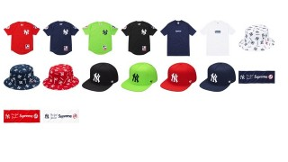 直リンク掲載 6月13日発売 Supreme × New York Yankees Box Logo等
