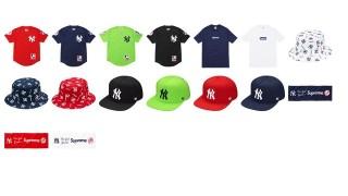 直リンク掲載 6月13日発売 Supreme × New York Yankees Box Logo等