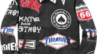 6月27日発売 Supreme × Thrasher(スラッシャー)など 2015ss