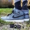 "8月1日発売予定 Nike Air Jordan 1Rrtro High ""Wolf Grey"""
