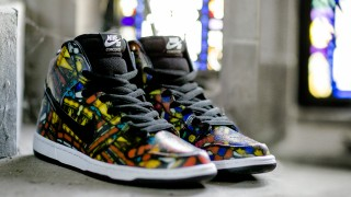 "8月14日発売予定 Concepts × Nike Dunk High PRM SB ""Stained Glass"""