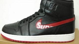 リーク Supreme × Nike Air Jordan 1