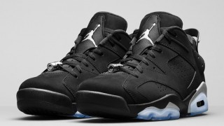 "8月29日発売予定 Nike Air Jordan 6 Retro Low ""METALLIC SILVER"""