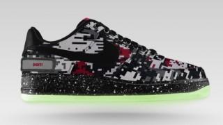 新素材追加 Nike Air Force 1 iD カモフラ柄など