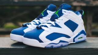 """直リンク掲載 9月19日発売 Nike Air Jordan 6 Low """"GHOST GREEN"""""""