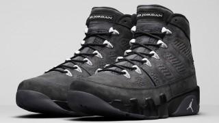 """直リンク掲載 9月5日発売 Nike Air Jordan 9 Retro """"Anthracite"""""""