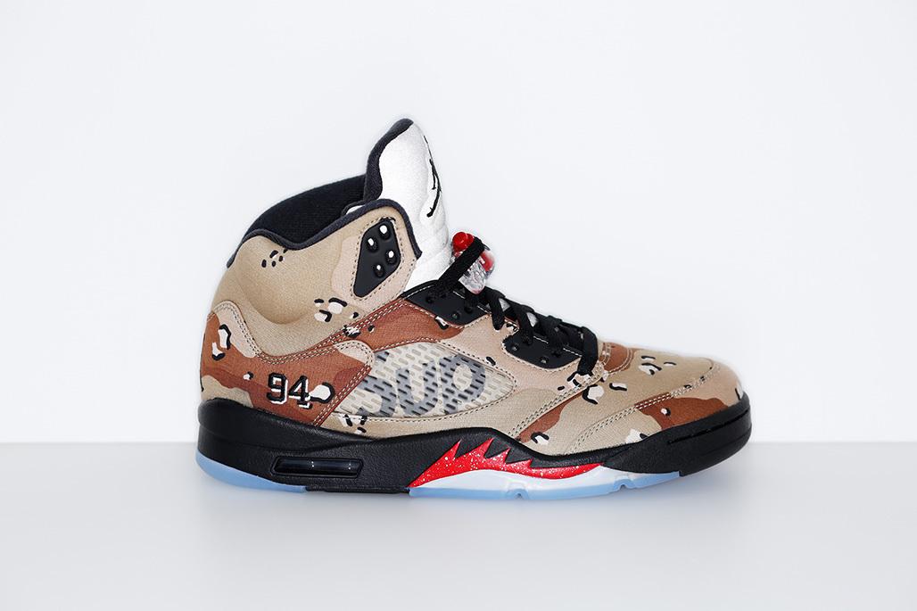 NikeLAB Supreme × Air Jordan 5 Retro – Sneaker Box(スニーカーボックス)