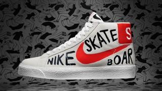 "発売開始 Nike SB Blazer Premium SE QS ""MCFETRIDGE"""