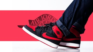 "12月19日発売予定 Nike Air Jordan 1 High KO OG ""Bred"""