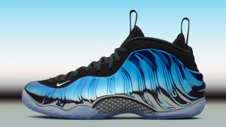 "直リンク掲載 12月31日発売 Nike Air Foamposite One PRM""Blue Mirror"""