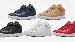 直リンク掲載 1月9日発売 NikeLab Air Force 1 Mid 5色