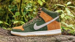 "1月9日発売 Nike SB Dunk High Premium""HOMEGROWN"""