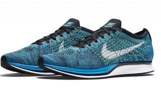 """直リンク掲載 2月13日発売 Nike Flyknit Racer """"Blue Cactus"""""""
