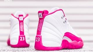 """直リンク掲載 2月20日発売 Nike Air Jordan 12 GS""""Dynamic Pink"""""""