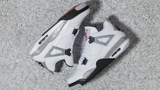 "2月13日発売 Nike Air Jordan 4 Retro OG""Cement"""
