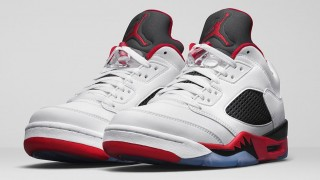 "直リンク掲載 3月12日発売 Nike Air Jordan 5 Retro Low ""Fire Red"""