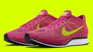 """直リンク掲載 3月5日発売予定 Nike Flyknit Racer""""Fireberry"""""""