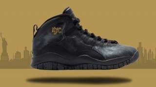 """国内4月30日発売予定 Nike Air Jordan 10 Retro """"NYC"""""""