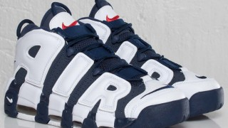 "海外7月4日発売予定 Nike Air More Uptempo ""Olympic"""