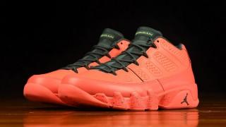 """直リンク掲載 5月7日発売 Nike Air Jordan 9 Retro Low """"Bright Mango"""""""
