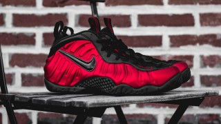 "直リンク掲載 5月21日発売予定 Nike Air Foamposite Pro ""University Red"""