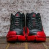 "【再販予定】 7月30日発売予定 Nike Air Jordan 12 Retro ""Black/Varsity Red"""