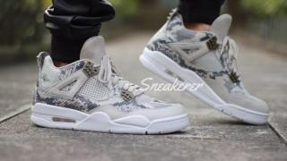 """直リンク掲載 5月21日発売 Nike Air Jordan 4 Retro Premium """"Light Bone"""""""