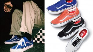 国内5月28日発売 Supreme × Vans Iridescent Old Skool 2016ss