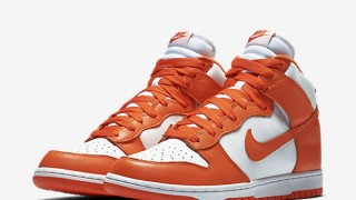 "直リンク掲載 6月17日発売 Nike Dunk High Retro QS""WHITE/ORANGE BLAZE"""