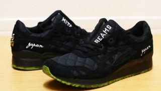"""BEAMS × mita sneakers × ASICS Tiger GEL-LYTE III """"Souvenir Jacket"""""""