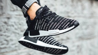 直リンク掲載 7月19日発売予定 adidas Originals NMD_R1 Blackout/Whiteout Pack